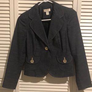 Ann Taylor LOFT blazer 00 Petite